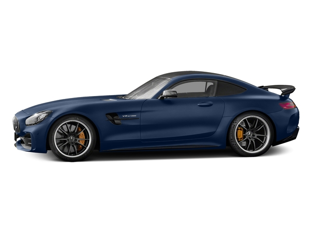 Brilliant Blue Metallic 2018 Mercedes-Benz AMG GT Pictures AMG GT AMG GT R Coupe photos side view