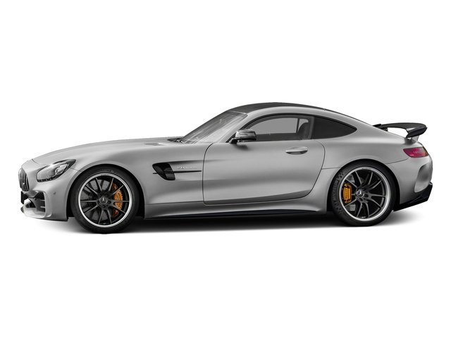 designo Iridium Silver Magno 2018 Mercedes-Benz AMG GT Pictures AMG GT AMG GT R Coupe photos side view