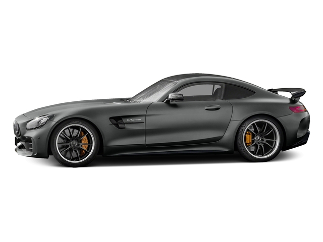 Selenite Grey Metallic 2018 Mercedes-Benz AMG GT Pictures AMG GT AMG GT R Coupe photos side view