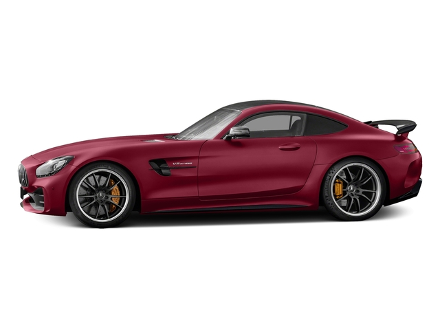 designo Cardinal Red Metallic 2018 Mercedes-Benz AMG GT Pictures AMG GT AMG GT R Coupe photos side view