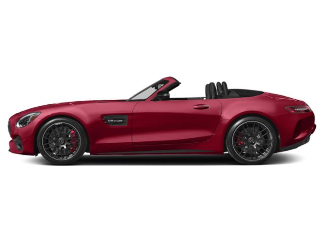 Jupiter Red 2018 Mercedes-Benz AMG GT Pictures AMG GT AMG GT Roadster photos side view