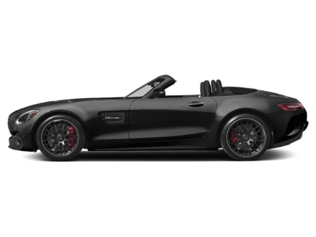 Magnetite Black Metallic 2018 Mercedes-Benz AMG GT Pictures AMG GT AMG GT Roadster photos side view