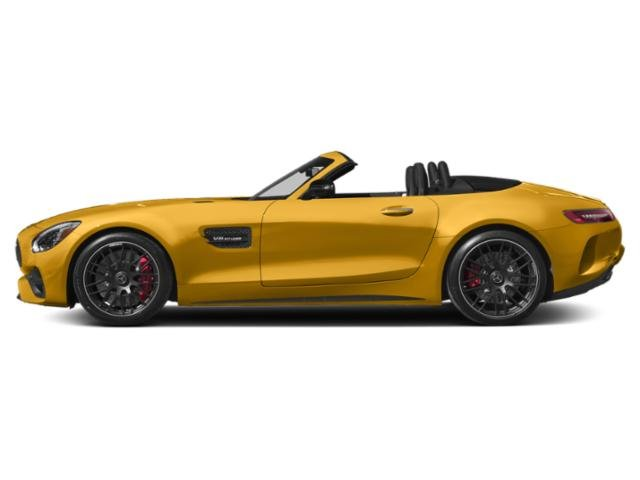 AMG Solarbeam Yellow Metallic 2018 Mercedes-Benz AMG GT Pictures AMG GT AMG GT C Roadster photos side view