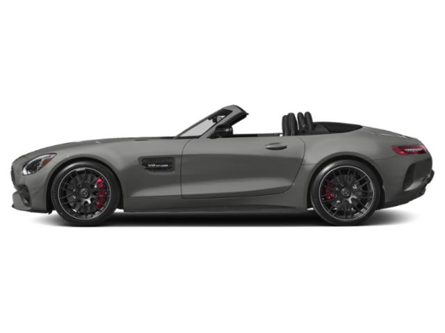 designo Selenite Grey Magno 2018 Mercedes-Benz AMG GT Pictures AMG GT AMG GT Roadster photos side view