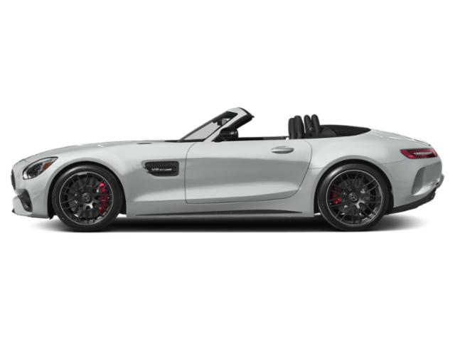 Iridium Silver Metallic 2018 Mercedes-Benz AMG GT Pictures AMG GT AMG GT Roadster photos side view