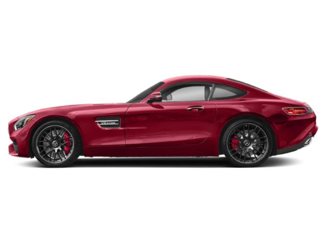 Jupiter Red 2018 Mercedes-Benz AMG GT Pictures AMG GT AMG GT C Coupe photos side view