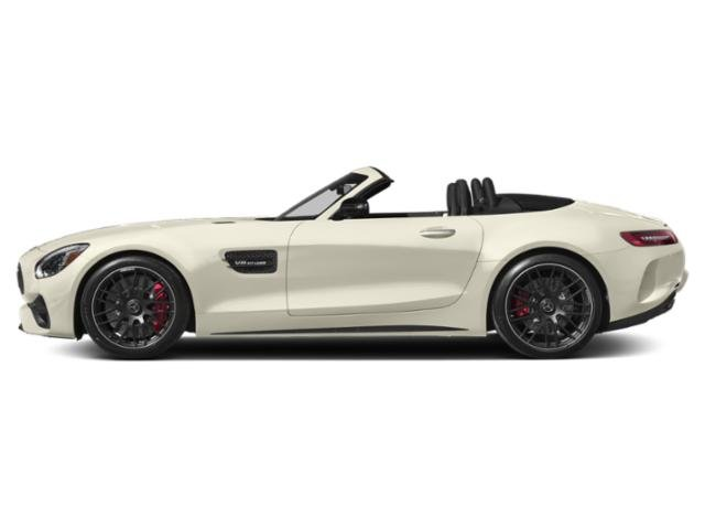 designo Diamond White Metallic 2018 Mercedes-Benz AMG GT Pictures AMG GT AMG GT C Roadster photos side view
