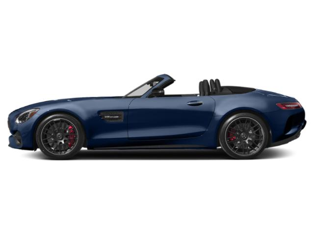 Brilliant Blue Metallic 2018 Mercedes-Benz AMG GT Pictures AMG GT AMG GT Roadster photos side view