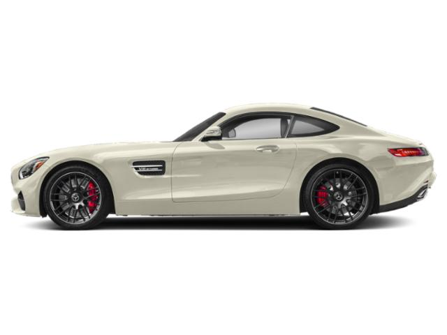 designo Diamond White Metallic 2018 Mercedes-Benz AMG GT Pictures AMG GT AMG GT C Coupe photos side view