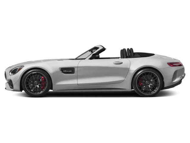 designo Iridium Silver Magno 2018 Mercedes-Benz AMG GT Pictures AMG GT AMG GT C Roadster photos side view