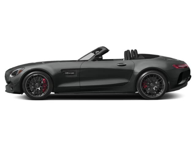Selenite Grey Metallic 2018 Mercedes-Benz AMG GT Pictures AMG GT AMG GT Roadster photos side view