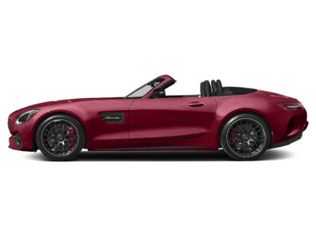 designo Cardinal Red Metallic 2018 Mercedes-Benz AMG GT Pictures AMG GT AMG GT Roadster photos side view