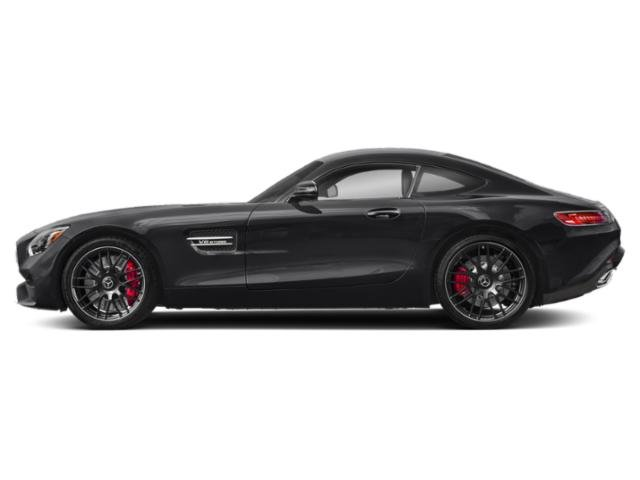 Black 2018 Mercedes-Benz AMG GT Pictures AMG GT AMG GT C Coupe photos side view