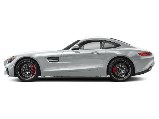 Iridium Silver Metallic 2018 Mercedes-Benz AMG GT Pictures AMG GT AMG GT C Coupe photos side view