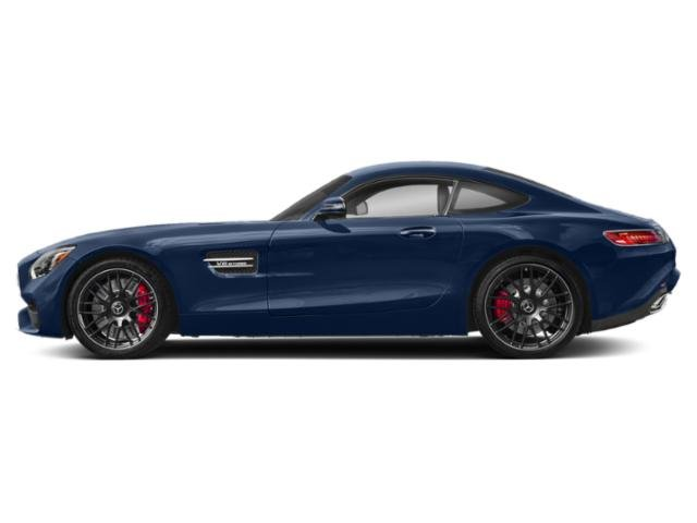 Brilliant Blue Metallic 2018 Mercedes-Benz AMG GT Pictures AMG GT AMG GT C Coupe photos side view