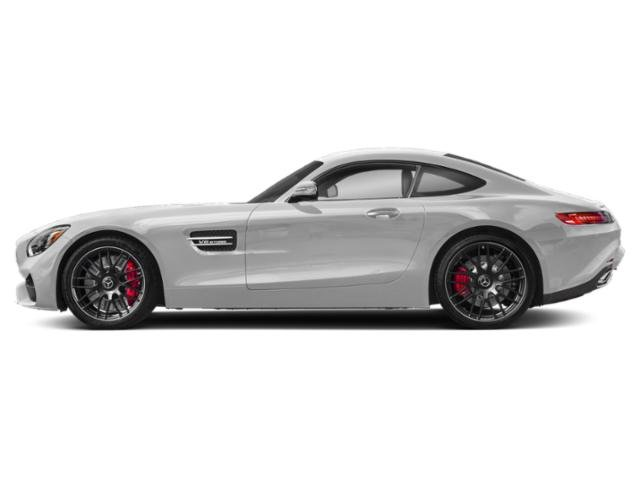 designo Iridium Silver Magno 2018 Mercedes-Benz AMG GT Pictures AMG GT AMG GT C Coupe photos side view