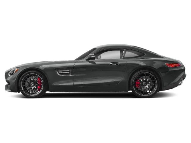 Selenite Grey Metallic 2018 Mercedes-Benz AMG GT Pictures AMG GT AMG GT C Coupe photos side view