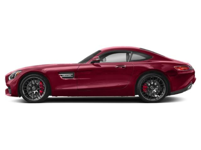 designo Cardinal Red Metallic 2018 Mercedes-Benz AMG GT Pictures AMG GT AMG GT C Coupe photos side view