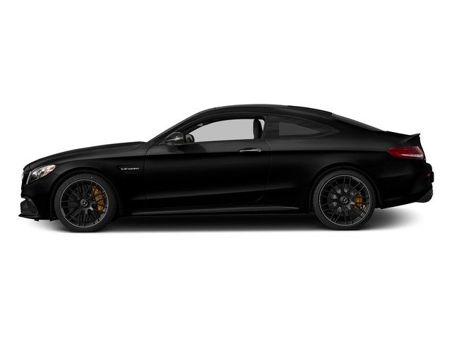 Obsidian Black Metallic 2018 Mercedes-Benz C-Class Pictures C-Class Coupe 2D C63 AMG S V8 Turbo photos side view