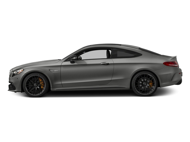 designo Selenite Grey Magno (Matte Finish) 2018 Mercedes-Benz C-Class Pictures C-Class AMG C 63 S Coupe photos side view