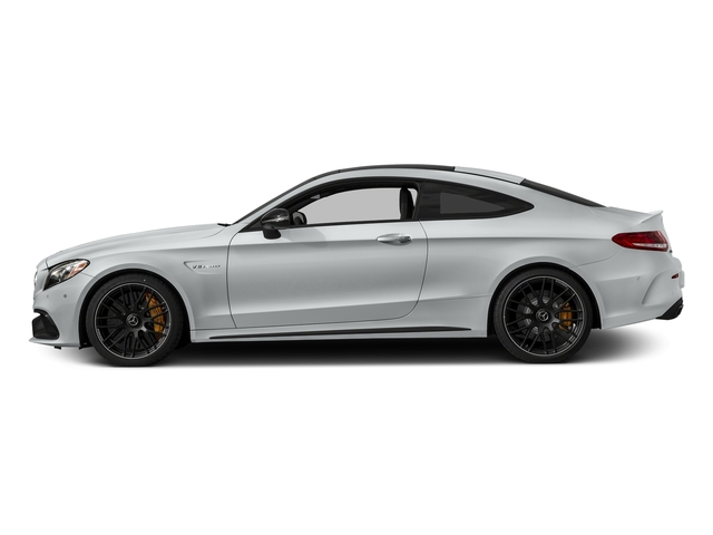 Iridium Silver Metallic 2018 Mercedes-Benz C-Class Pictures C-Class Coupe 2D C63 AMG S V8 Turbo photos side view