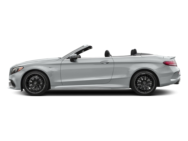 Iridium Silver Metallic 2018 Mercedes-Benz C-Class Pictures C-Class AMG C 63 Cabriolet photos side view
