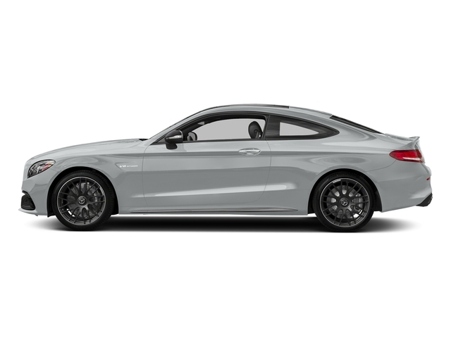 Iridium Silver Metallic 2018 Mercedes-Benz C-Class Pictures C-Class Coupe 2D C63 AMG V8 Turbo photos side view
