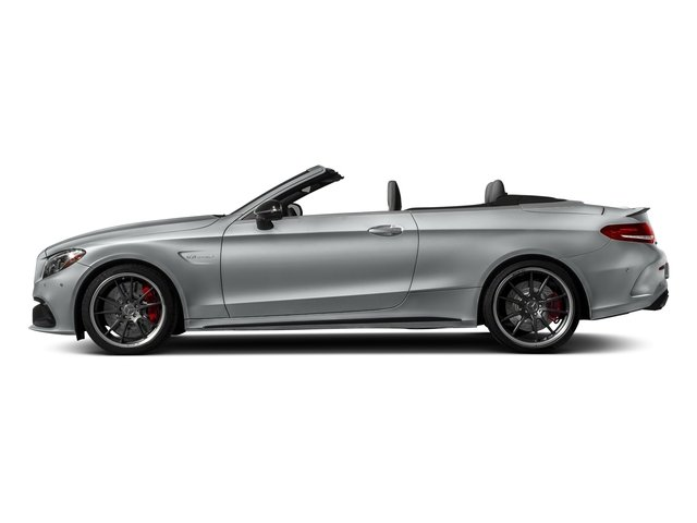 Iridium Silver Metallic 2018 Mercedes-Benz C-Class Pictures C-Class AMG C 63 S Cabriolet photos side view