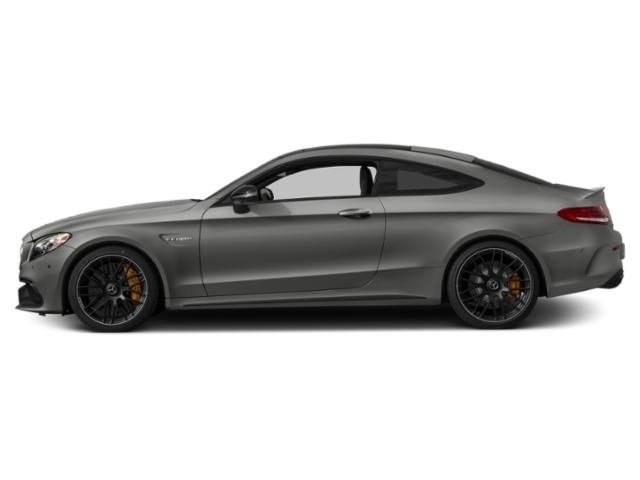 Selenite Grey Metallic 2018 Mercedes-Benz C-Class Pictures C-Class AMG C 63 S Coupe photos side view