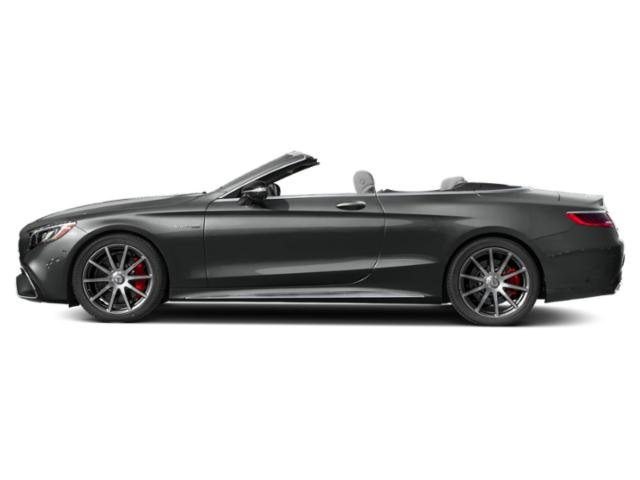 Selenite Grey Metallic 2018 Mercedes-Benz S-Class Pictures S-Class AMG S 63 4MATIC Cabriolet photos side view