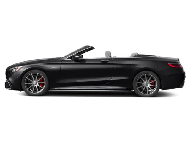 Black 2018 Mercedes-Benz S-Class Pictures S-Class AMG S 63 4MATIC Cabriolet photos side view