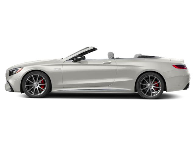 designo Cashmere White Magno 2018 Mercedes-Benz S-Class Pictures S-Class Convertible 2D S63 AMG AWD V8 Turbo photos side view