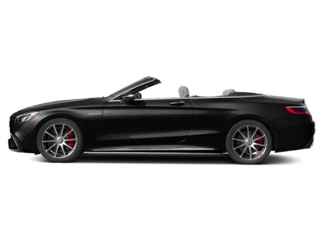 Magnetite Black Metallic 2018 Mercedes-Benz S-Class Pictures S-Class AMG S 63 4MATIC Cabriolet photos side view