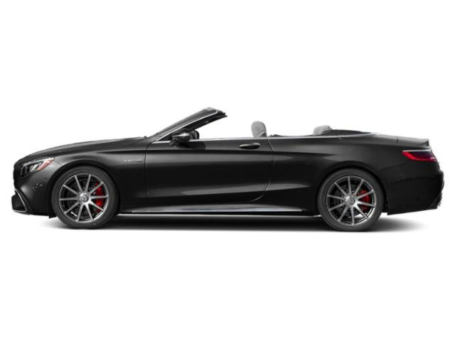 Obsidian Black Metallic 2018 Mercedes-Benz S-Class Pictures S-Class Convertible 2D S63 AMG AWD V8 Turbo photos side view
