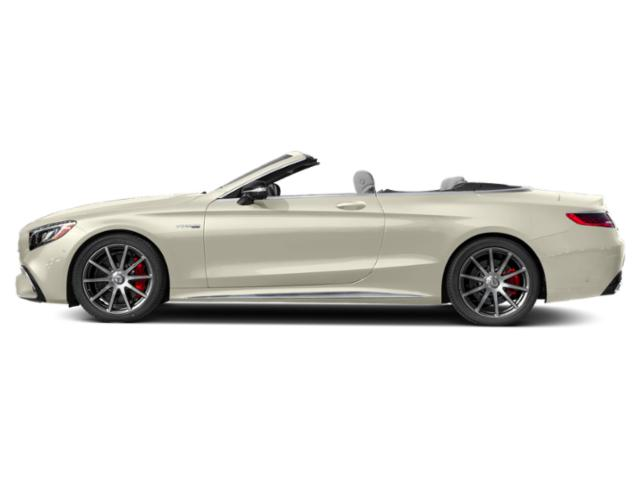 designo Diamond White 2018 Mercedes-Benz S-Class Pictures S-Class Convertible 2D S63 AMG AWD V8 Turbo photos side view