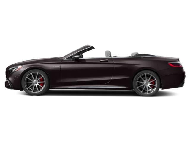 Ruby Black Metallic 2018 Mercedes-Benz S-Class Pictures S-Class AMG S 63 4MATIC Cabriolet photos side view