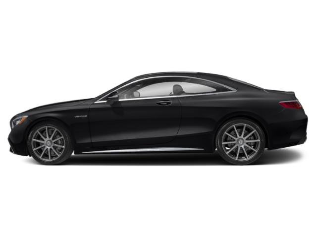 Black 2018 Mercedes-Benz S-Class Pictures S-Class AMG S 63 4MATIC Coupe photos side view