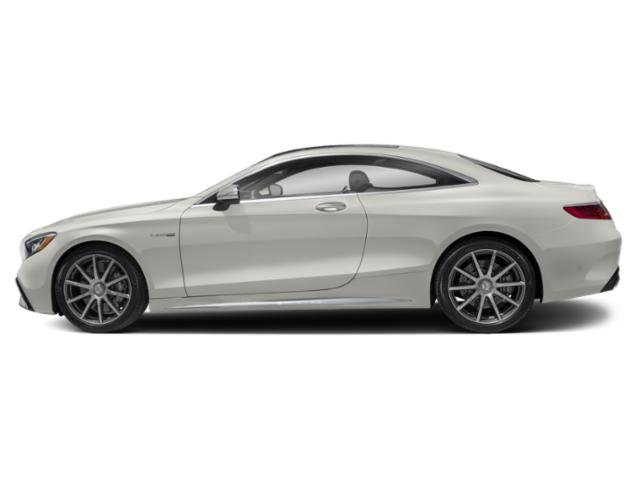 designo Cashmere White Magno 2018 Mercedes-Benz S-Class Pictures S-Class AMG S 63 4MATIC Coupe photos side view