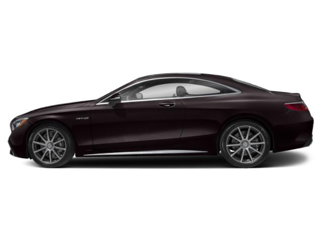 Ruby Black Metallic 2018 Mercedes-Benz S-Class Pictures S-Class AMG S 63 4MATIC Coupe photos side view