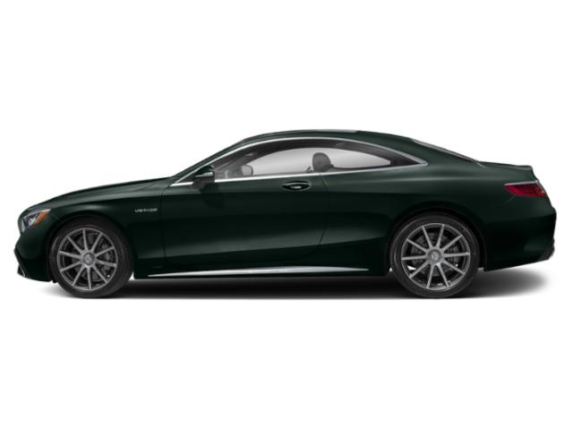 Emerald Green Metallic 2018 Mercedes-Benz S-Class Pictures S-Class AMG S 63 4MATIC Coupe photos side view