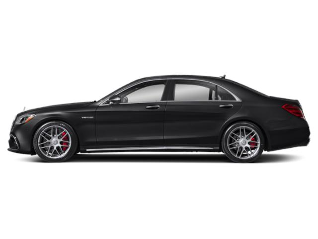 Black 2018 Mercedes-Benz S-Class Pictures S-Class AMG S 63 4MATIC Sedan photos side view