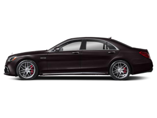 Ruby Black Metallic 2018 Mercedes-Benz S-Class Pictures S-Class AMG S 63 4MATIC Sedan photos side view