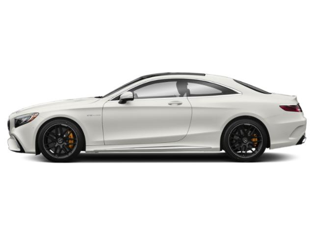 designo Cashmere White Magno 2018 Mercedes-Benz S-Class Pictures S-Class AMG S 65 Coupe photos side view