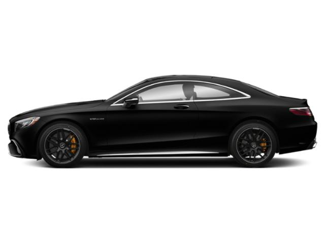 Obsidian Black Metallic 2018 Mercedes-Benz S-Class Pictures S-Class AMG S 65 Coupe photos side view