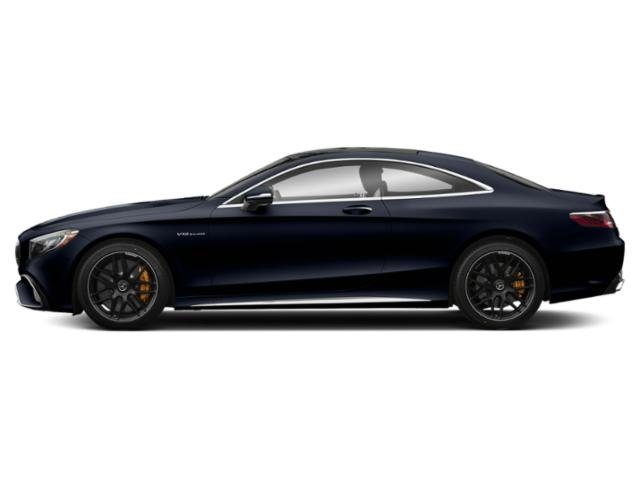 Lunar Blue Metallic 2018 Mercedes-Benz S-Class Pictures S-Class AMG S 65 Coupe photos side view