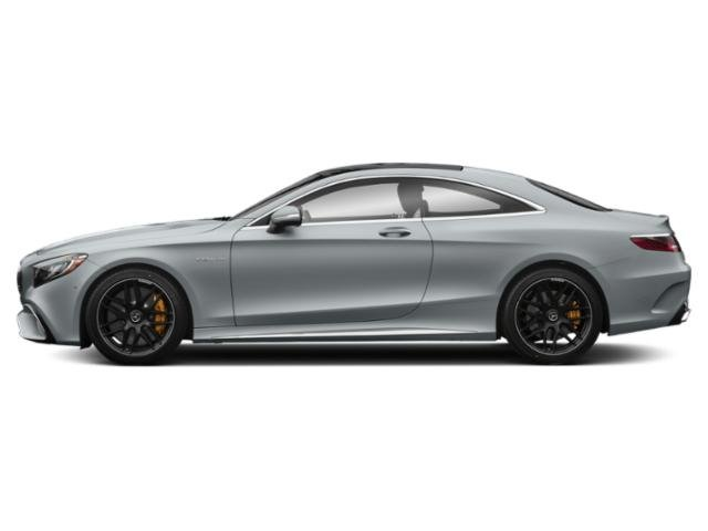 Diamond Silver Metallic 2018 Mercedes-Benz S-Class Pictures S-Class AMG S 65 Coupe photos side view