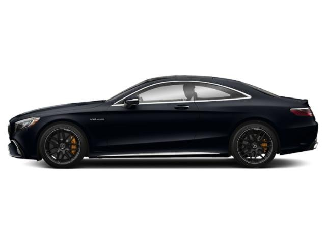 Anthracite Blue Metallic 2018 Mercedes-Benz S-Class Pictures S-Class AMG S 65 Coupe photos side view
