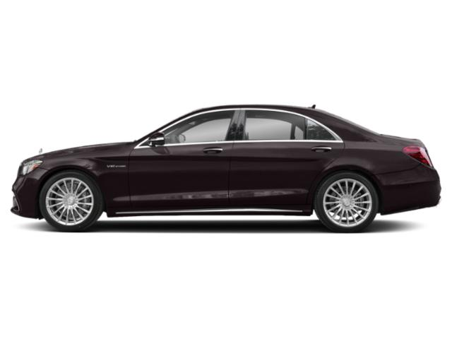 Ruby Black Metallic 2018 Mercedes-Benz S-Class Pictures S-Class AMG S 65 Sedan photos side view