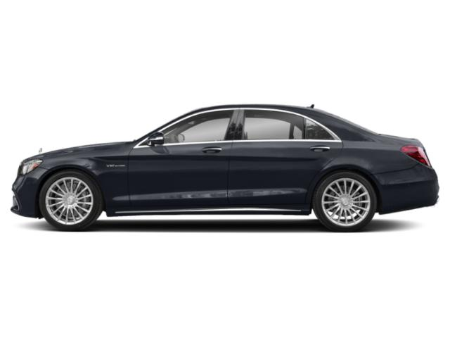 Anthracite Blue Metallic 2018 Mercedes-Benz S-Class Pictures S-Class AMG S 65 Sedan photos side view