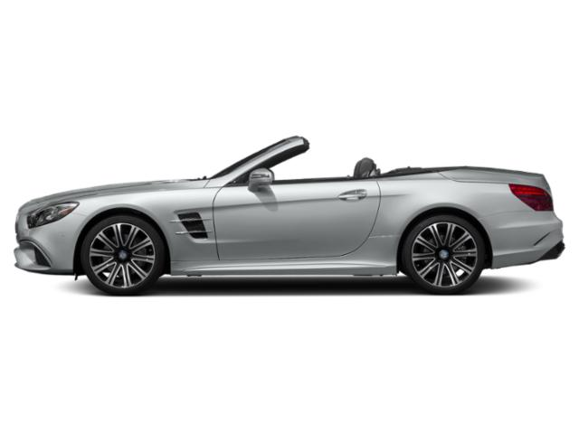 Iridium Silver Metallic 2018 Mercedes-Benz SL Pictures SL SL 450 Roadster photos side view